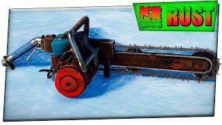 Rust НАШЕЛ СГНИВШИЙ ДОМ С КУЧЕЙ ЛУТА ! ВЫГОДНО ЛИ ФАРМИТ БЕНЗОПИЛА !? #33