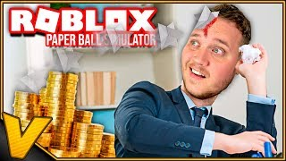 THROWING-STARS OF PAPER! * MONEY AND PETS CODES *:: Roblox Paper Ball Simulator english