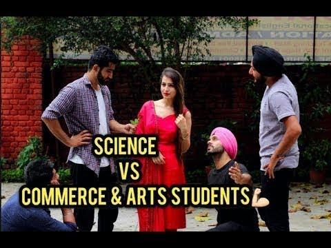 Science vs commerce and arts | sahib noor singh