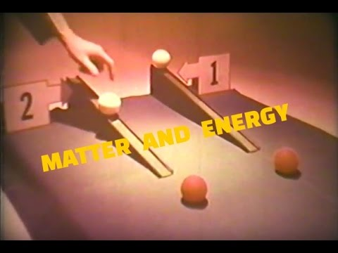 Matter and Energy: Kinetic and Potential Energy / Fission and Fusion