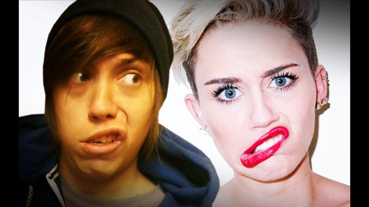 Mester Fodrsz Hanna Montana Real Haircuts Youtube
