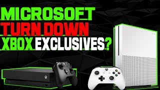 WHAT!? Microsoft Turned Down Multiple New Exclusive Xbox One Games! What Are They Thinking?