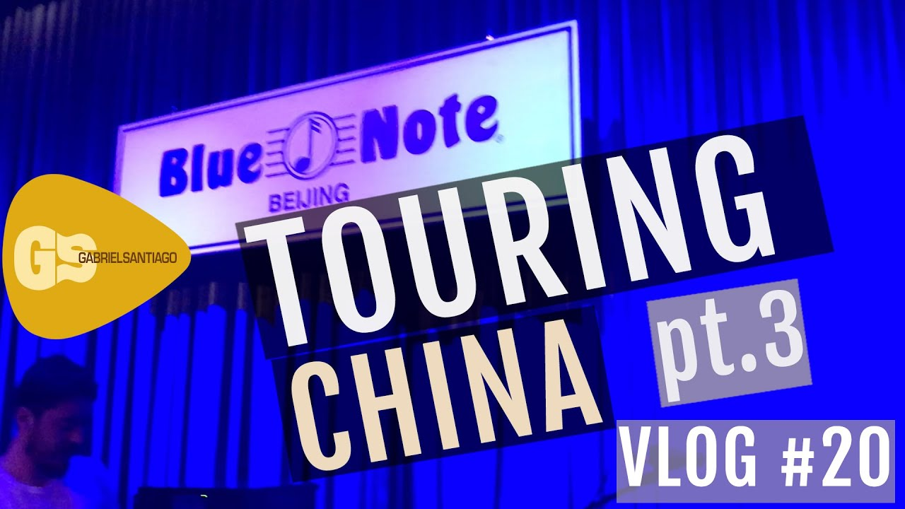 Touring in China BEFORE the Pandemic | Vlog #20