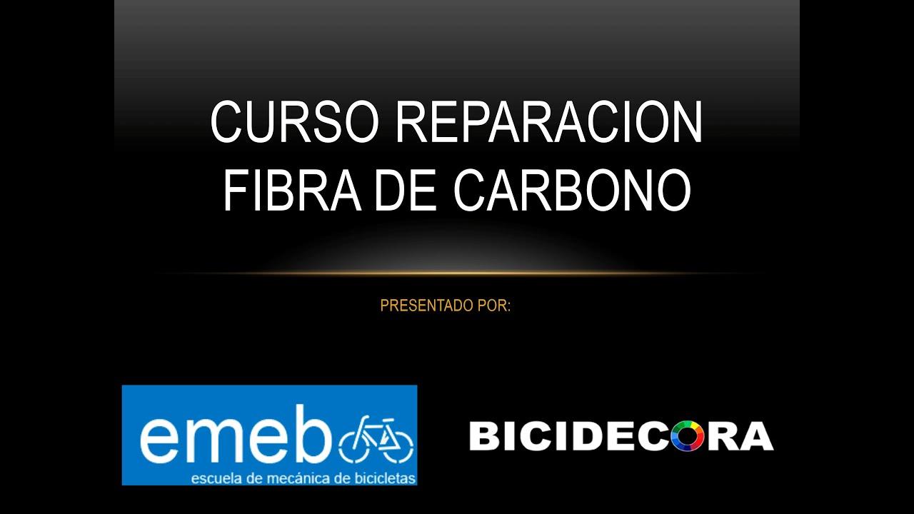 Curso de reparación de cuadros de carbono. - YouTube