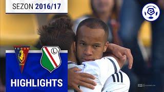 Pogoń Szczecin - Legia Warszawa 0:2 [skrót] sezon 2016/17 kolejka 32