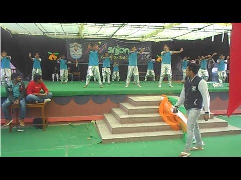 Group dance on  Vande matram ABCD2      Patriotic     Festive