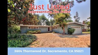 Just Listed For Sale - 3604 Thornwood Dr, Sacramento, CA 95821