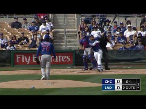 Dodgers vs Cubs Highlights | Dodgers Spring Training 2019