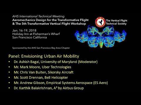 Transformative VTOL 2018 Panel 1: Aeromechanics Challenges