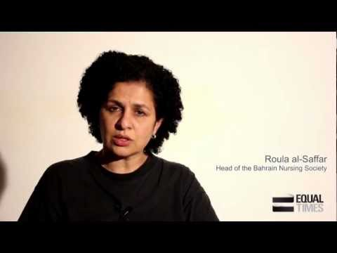 Free the medics in Bahrain. Roula al-Saffar. Appeal - Equal Times