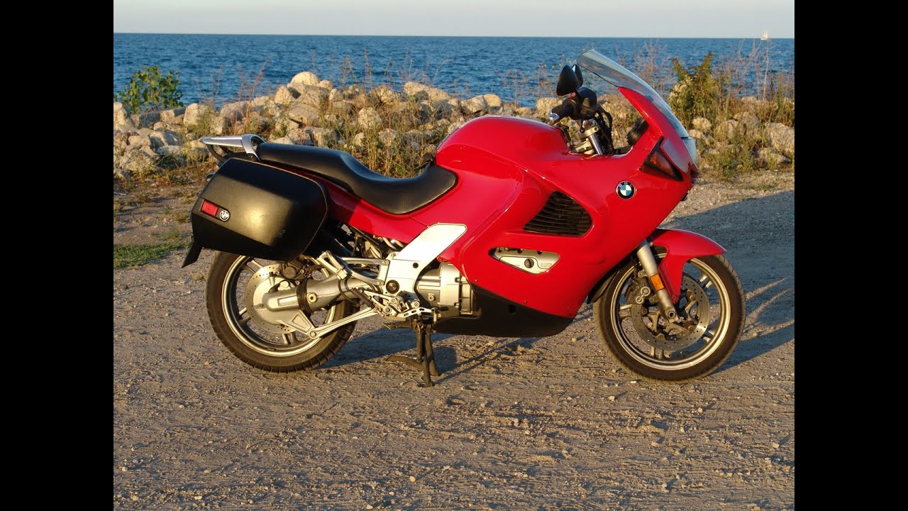 2001 BMW K1200RS Red