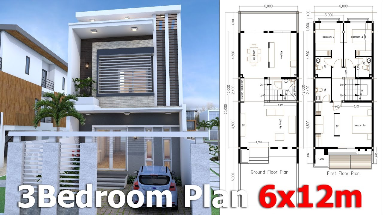 2 Bedroom Bungalow Layout