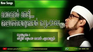 ദേശങ്ങള്‍ തേടി... | Sayyid Thwaha Thangal Pookkottoor | Latest Madhu SOng 2016