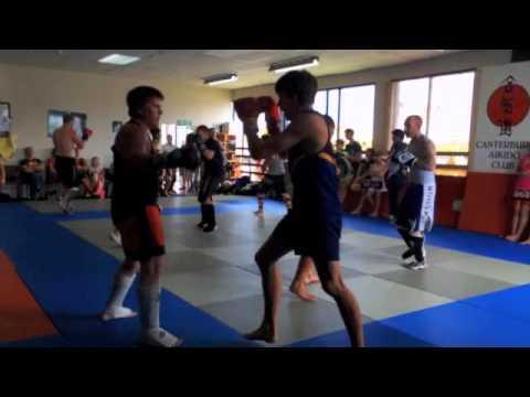 Go Ju Kickboxing Grading