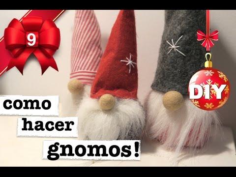 Manualidades Duendes De Navidad.How To Make Christmas Gnomes Super Easy 3 Ways