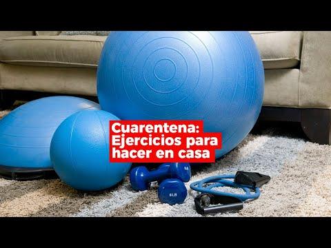 Cuarentena: Ejercicios para hacer en casa