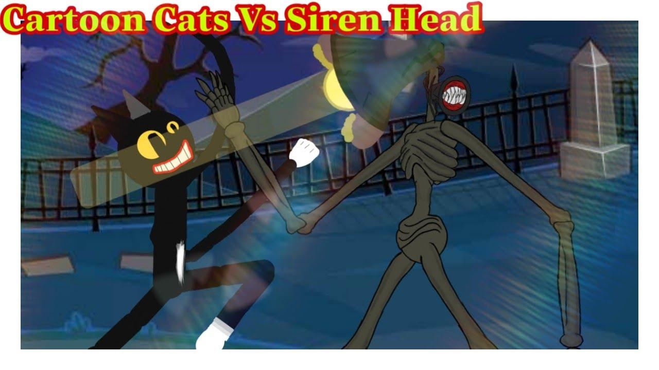 【Cartoon Cats Vs Siren Head】💪😵 Cartoon Cats Animation । Siren Head Animation