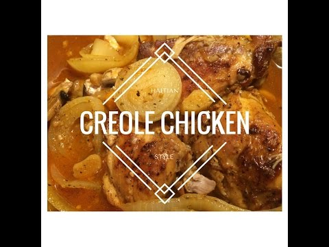 How to cook creole chicken