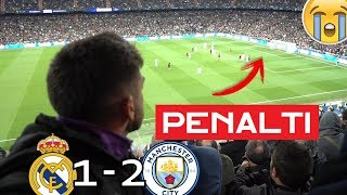 REAL MADRID 1-2 MANCHESTER CITY *MADRIDISTA REACCIONANDO*