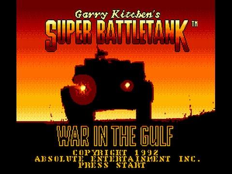 Super Battle Tank - War in the Gulf (Sega Genesis)