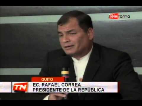 Presidente Correa retornó tras visitar al Papa