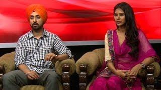Interview with Diljit Singh Dosanjh & Sonam Bajwa artist
