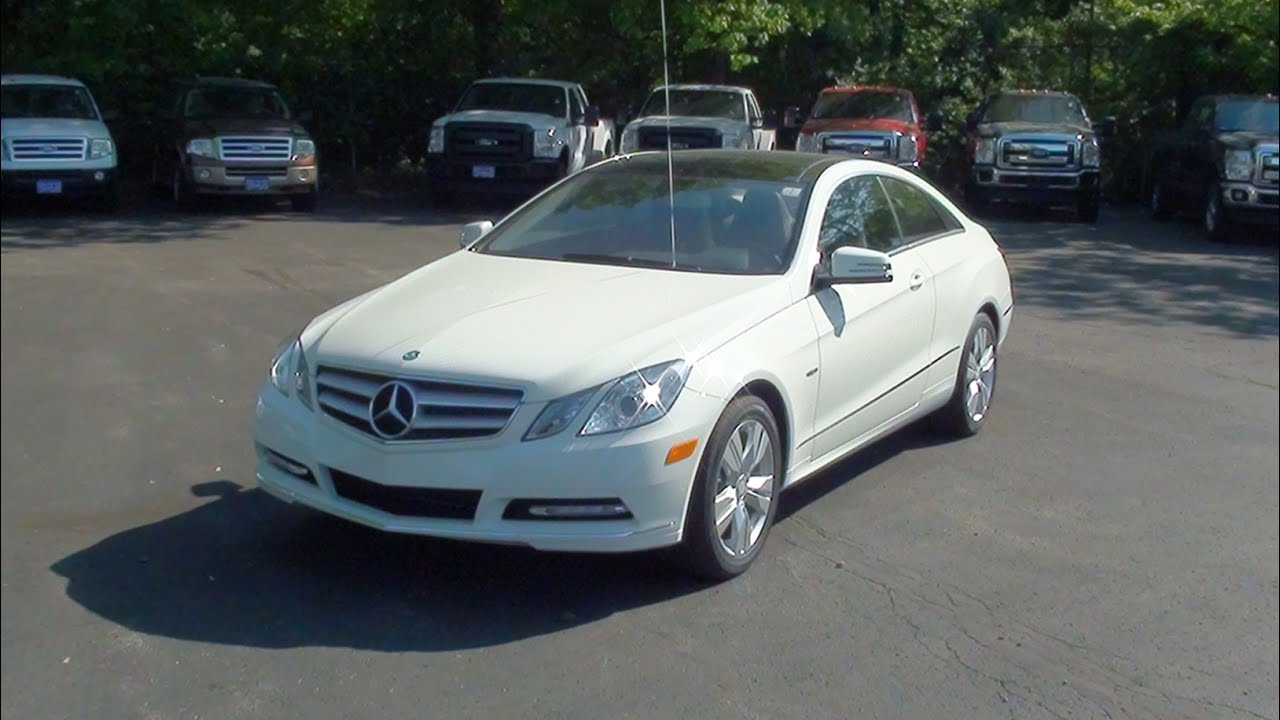 Mvs 2012 mercedes benz e350 4matic coupe youtube for 2012 mercedes benz e350 4matic