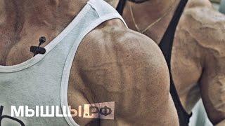 """Нереальная """"зарядка"""" для мышц плеч. Дмитрий Иванов и Гришин Илья"""