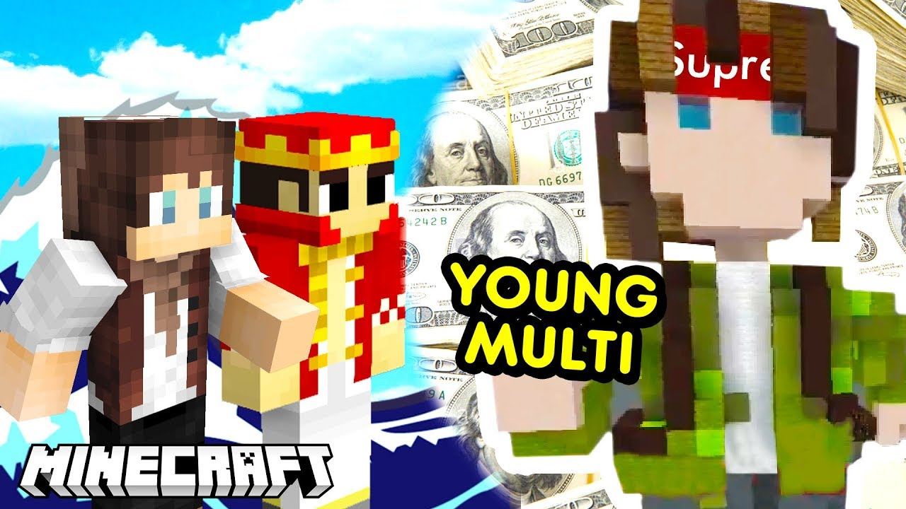 YOUNG MULTI w MINECRAFT – BUILD BATTLE