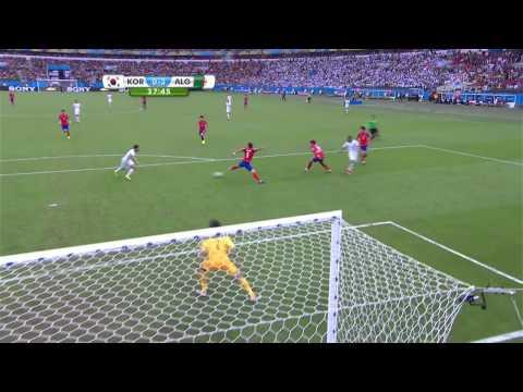 World Cup 2014 Group H South Korea vs Algeria 2014 All Goals/Korea Płd. - Algieria