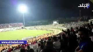 بالفيديو.. جماهير النجم تغادر الملعب الأوليمبى قبل نهاية مباراة فريقها أمام الزمالك
