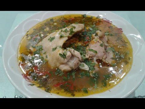 рецепт суп харчо с рисом пошагово