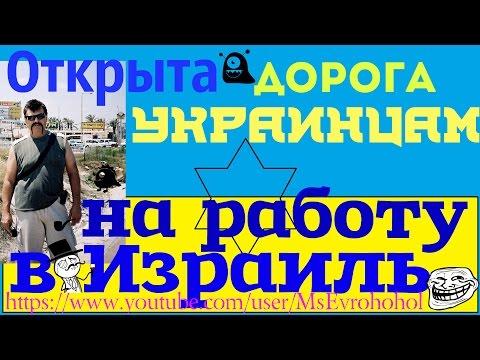 Украинцам# легальная работа# Израиль#