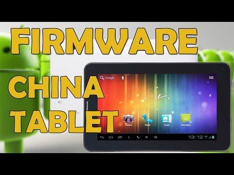 Cómo Flashear El Firmware De Cualquier Tablet China. Método 2018.