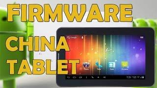 Cómo Flashear el firmware de cualquier tablet china. Método 2017.