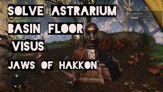 Solve Basin Floor Astrarium, Visus (Jaws of the Hakkon) - Dragon Age Inquisition DLC