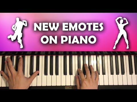 *NEW* Fortnite Emotes On Piano (Glitter, Billy Bounce)