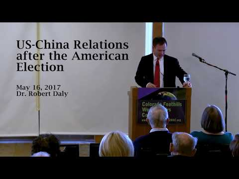 "Robert Daly: ""US-China Relations after the American Election"""