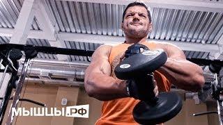 Грудные мышцы. Тренировка от чемпиона! Халепо Сергей