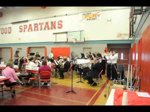 """Stanwood Middle School Jazz Band plays """"Mission Impossible"""""""
