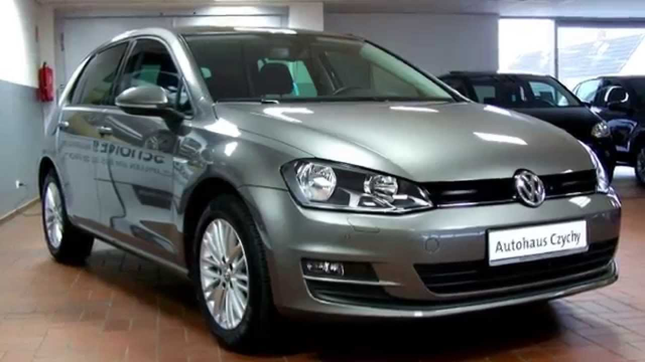 volkswagen golf vii 1 2 tsi cup ew350870 limestone grey autohaus czychy youtube. Black Bedroom Furniture Sets. Home Design Ideas