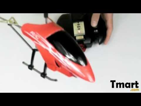 $18 32 3 Channel Remote Control Helicopter Red & Black-14001977