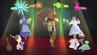 Gioco ballo per bambini Just Dance Disney Party (Wii- Xbox 360 - 2012)