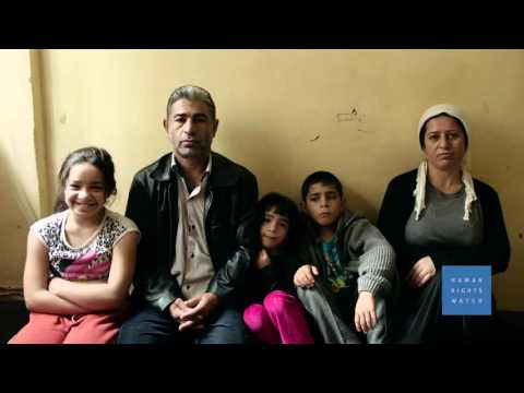 Syrian Refugee Kids Out of School in Turkey