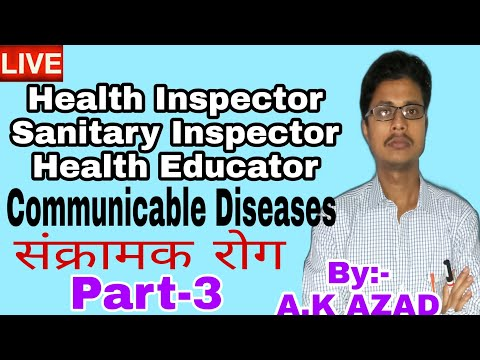 Health Inspector |Sanitary Inspector|Revision Online Class-5