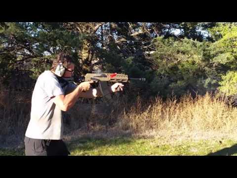 Hatcher Gun Company Custom Saiga w/ Modified Slidefire