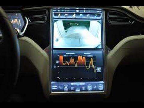 Tesla Model X S 3 Touchscreen Display Dual Mode Demonstration
