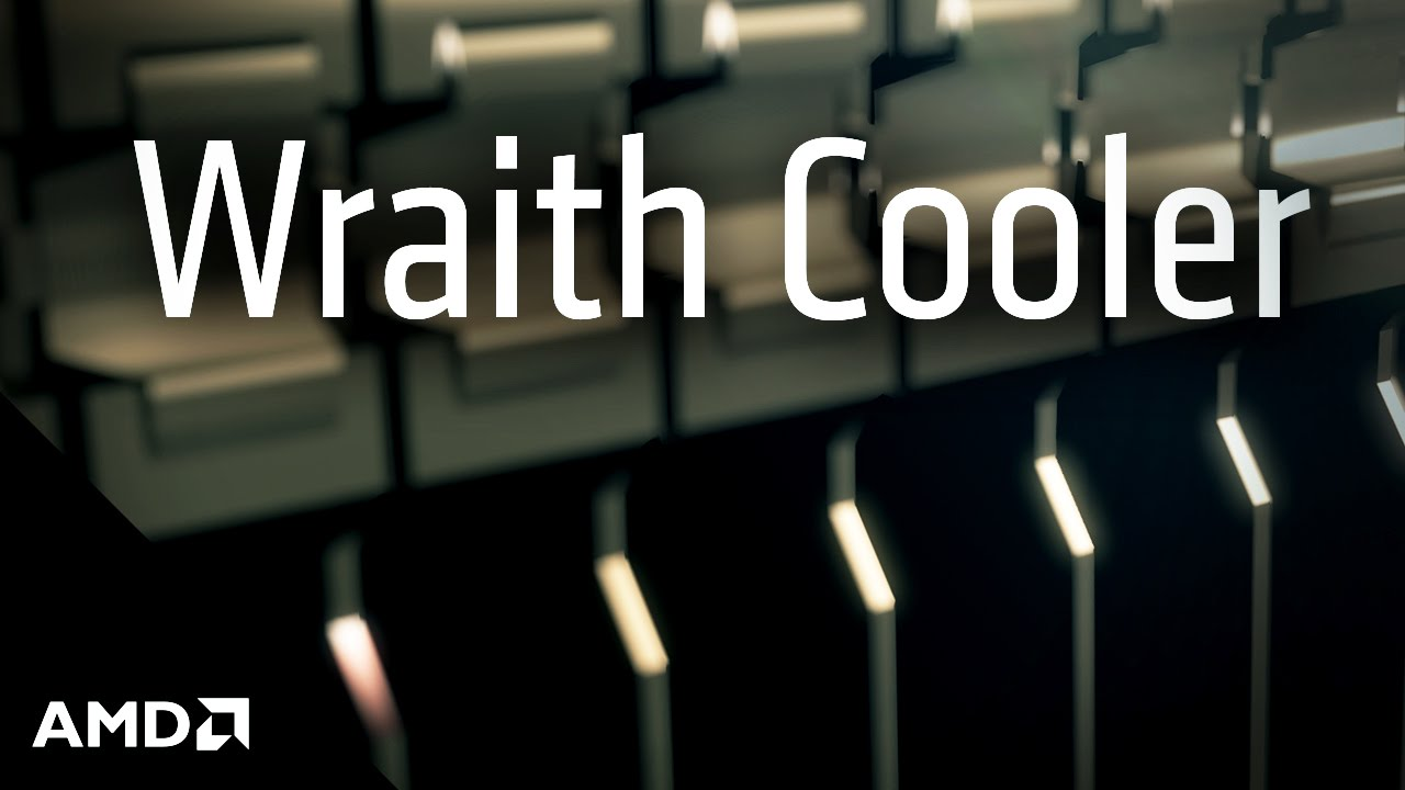 AMD Wraith Cooler Launch - YouTube