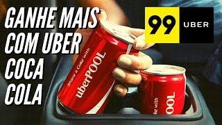 Ganhe mais dando Coca-Cola no Uber 99 Pop