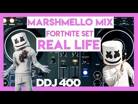 Marshmello Mix Fortnite Live Concert in REAL LIFE | DDJ 400